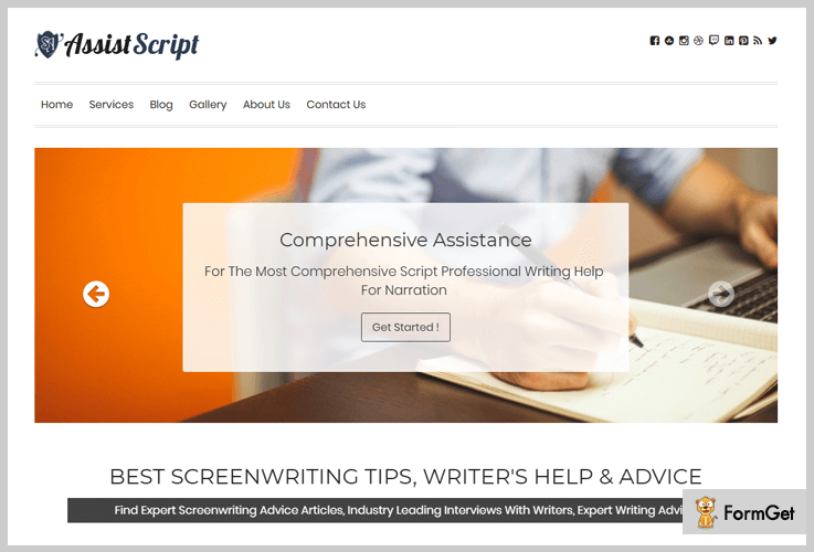 AssistScript Blogs Trend Blogger WordPress Themes