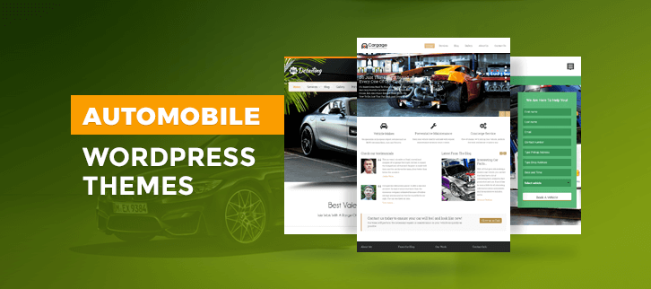 Automobile WordPress Themes