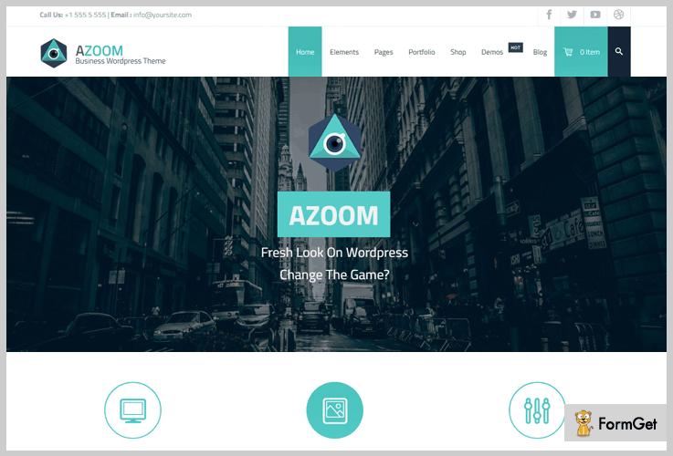 Azoom Anime WordPress Theme