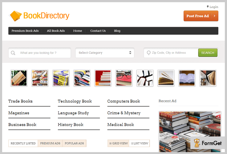 BookDirectory - Directory WordPress Theme