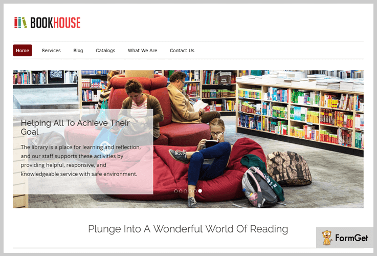 Library WordPress Themes