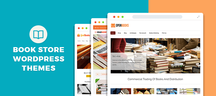 5+ Book Store WordPress Themes 2019 (Free and Paid) | FormGet