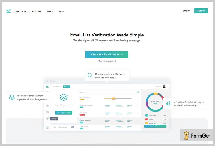 Bounceless Email Verification Services