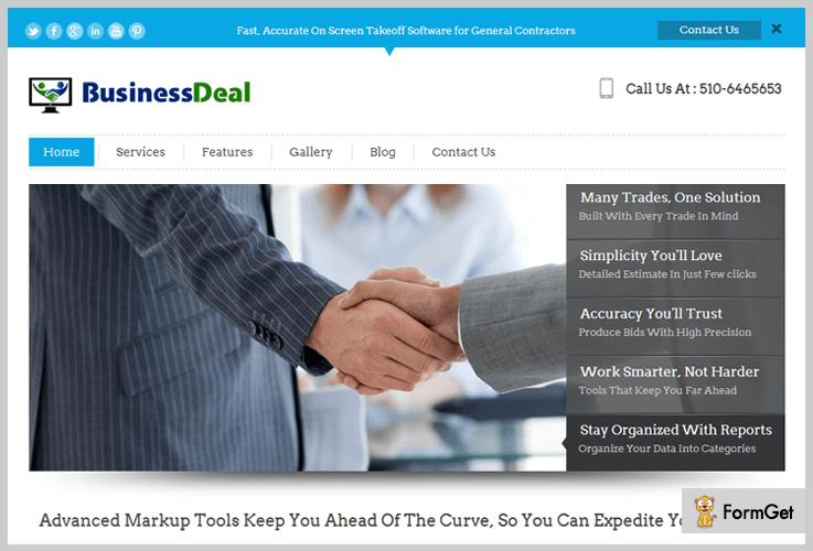 BusinessDeal Freelancer WordPress Theme