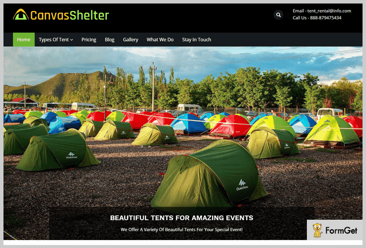 CanvasShelter - Vacation Rental WordPress Themes