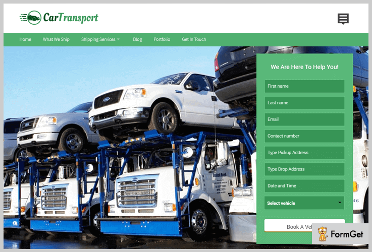 CarTransport WordPress Theme
