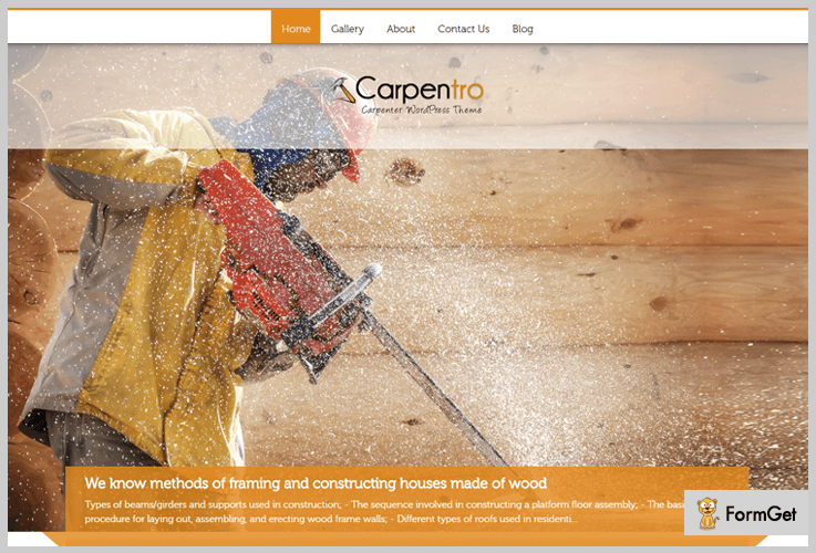 Carpentro: Renovation WordPress Theme