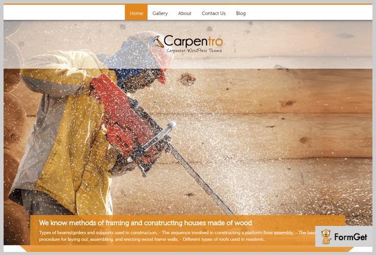 Carpentro: Renovation WordPressTheme