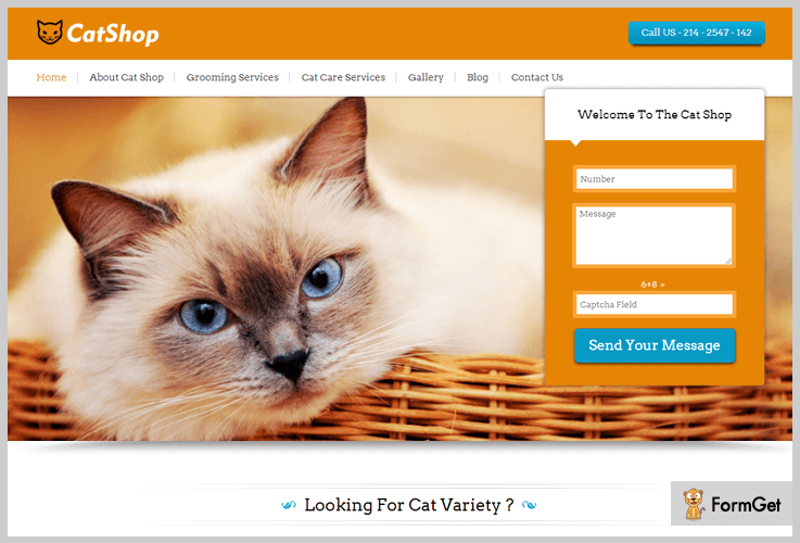 Cat Shop Pet Store WordPress Theme