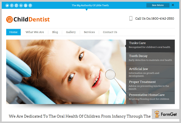 5 dentist wordpress themes 2019 free and paid formget