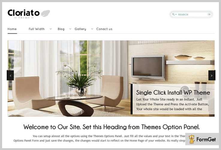 Cloriato Lite WordPress Theme For Training Courses