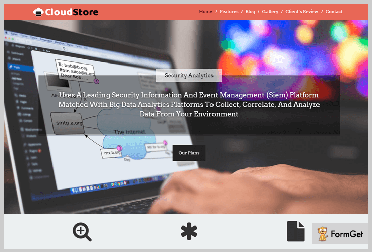 CloudStore IT Company WordPress Themes