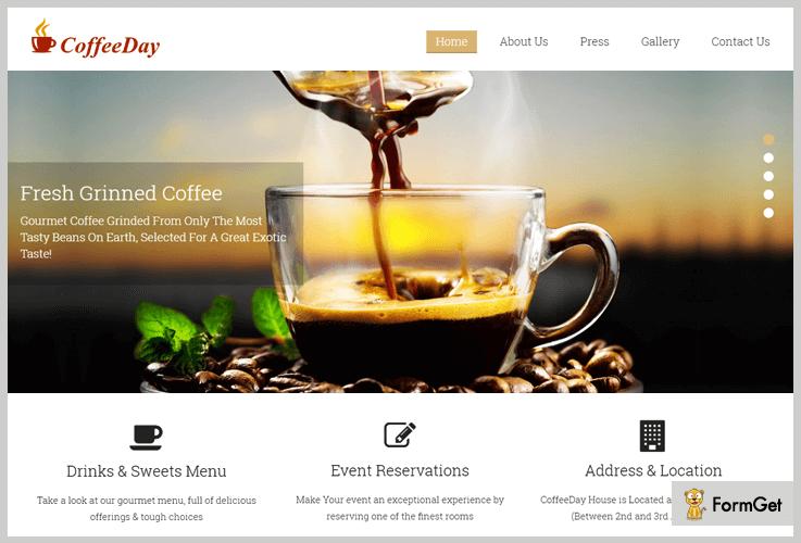 CoffeeShop WordPressTheme