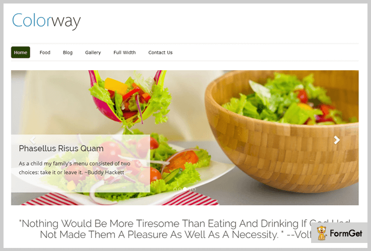ColorWay Most Popular WordPress Theme