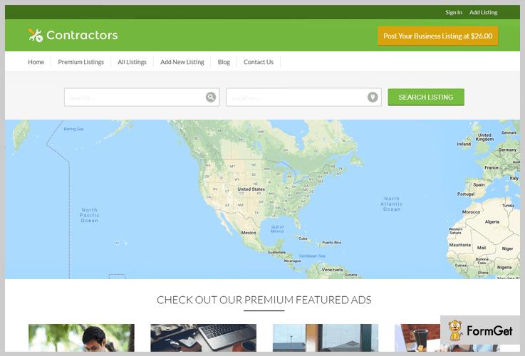 Contractor Builder WordPress Theme