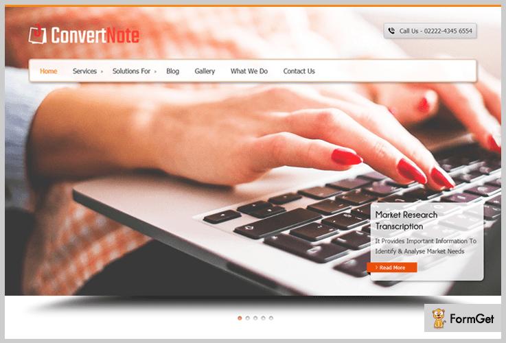 ConvertNote WordPress Theme