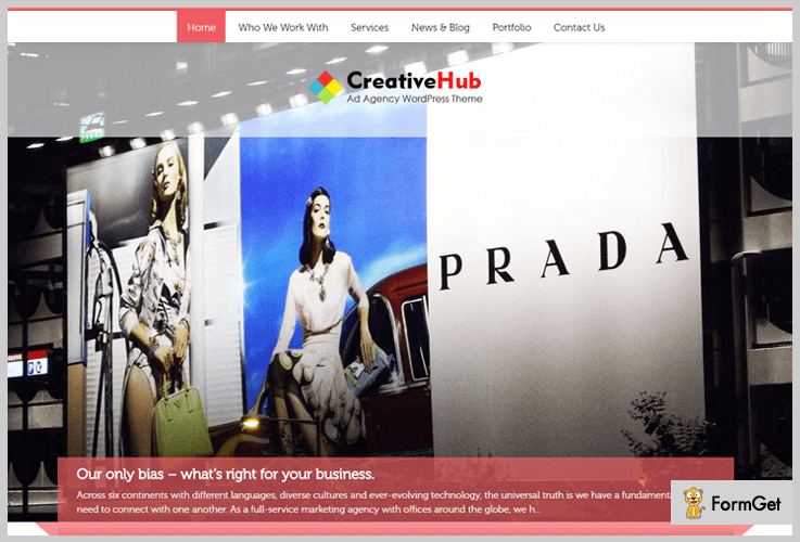 Creative Hub Creative Agency WordPress Theme