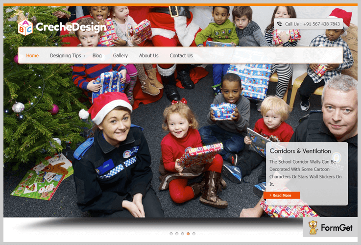 Creche Design Play School WordPress Theme