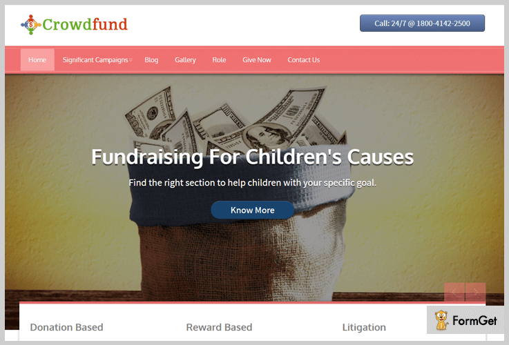CrowdFund WordPress Theme