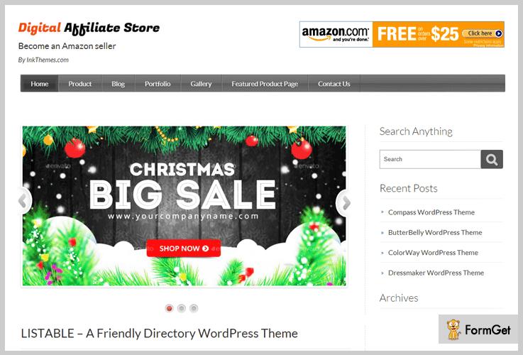 digital affiliate store