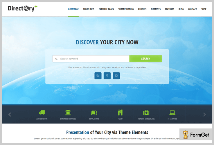 Directory Plus - Directory WordPress Theme