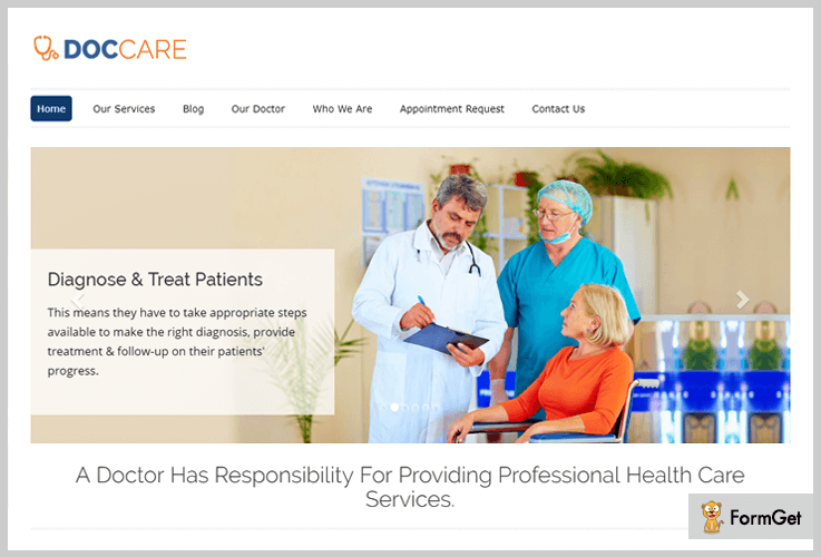 DocCare Medical WordPress Themes