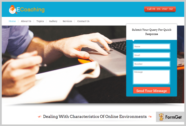 ECoaching E-learning WordPress Themes