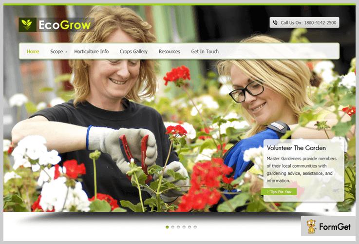 Eco Grow Landscaping WordPress Theme