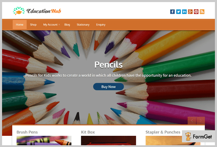 EducationHub University WordPress Themes