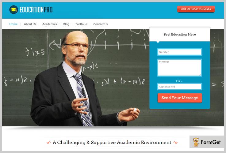 EducationPro University WordPress Theme