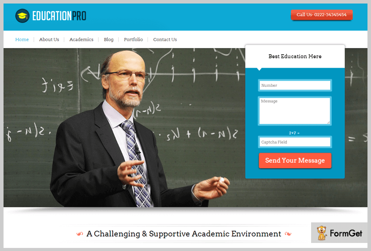 EducationPro Education WordPress Themes