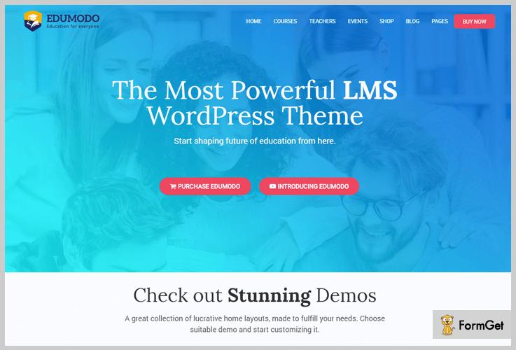 Edumodo LMS WordPress Themes