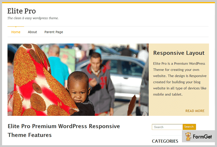 Elite Lite Magazine WordPress Themes