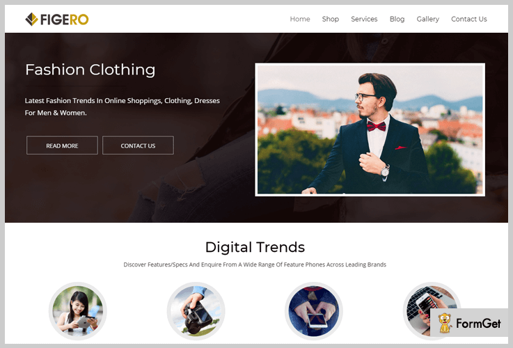 Figero Beginner WordPress Theme