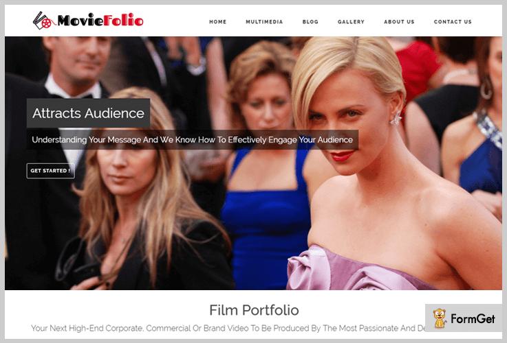 Film-Portfolio WordPress Themes