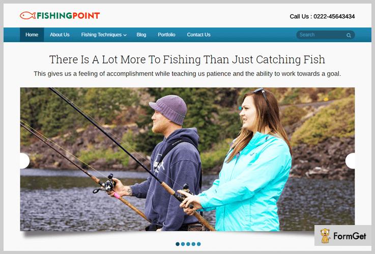 FishingPoint Fishing WordPress Theme