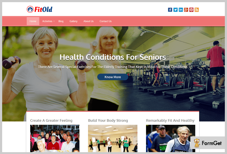 FitOld Gym WordPress Themes