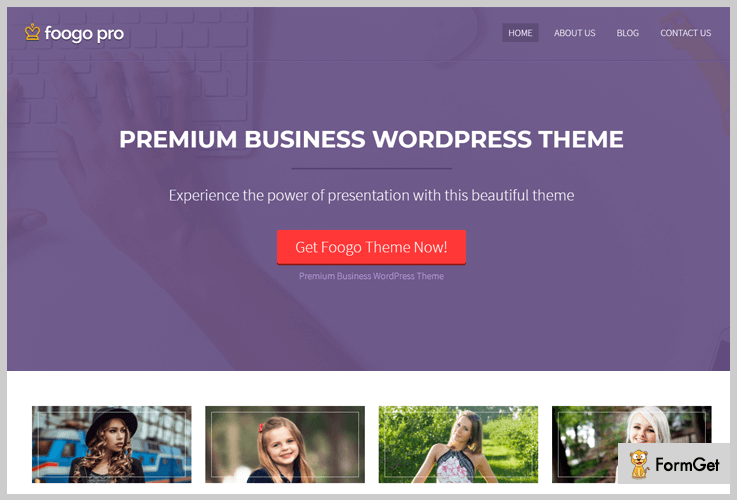 Foogo Simple WordPress Theme