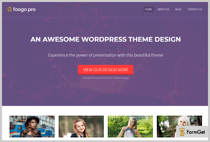 Foogo Pro Video Background WordPress Theme