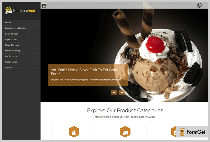 5 Food Wordpress Templates 2019 Free And Paid Formget