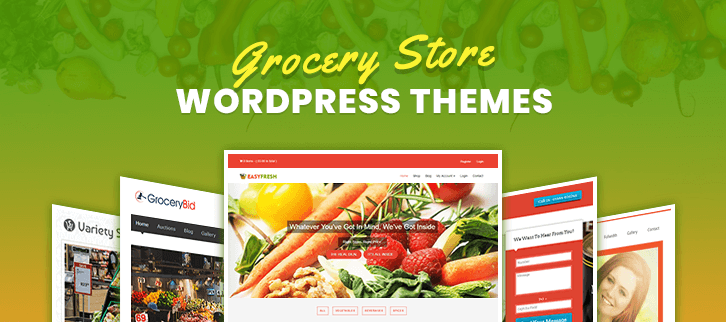 5+ Grocery Store WordPress Themes 2019 | FormGet
