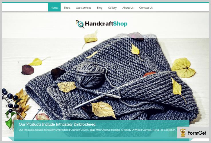 HandcraftShop Shop WordPress Themes