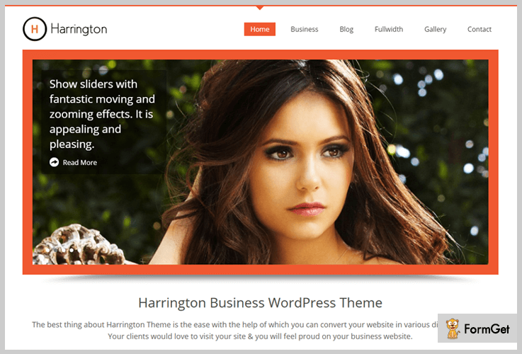 High Quality WordPress Theme