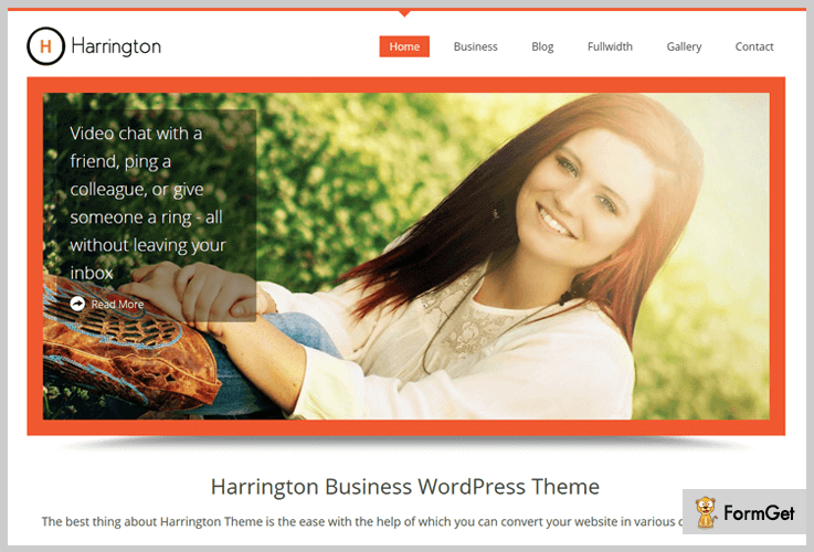 Harrington School WordPress Theme