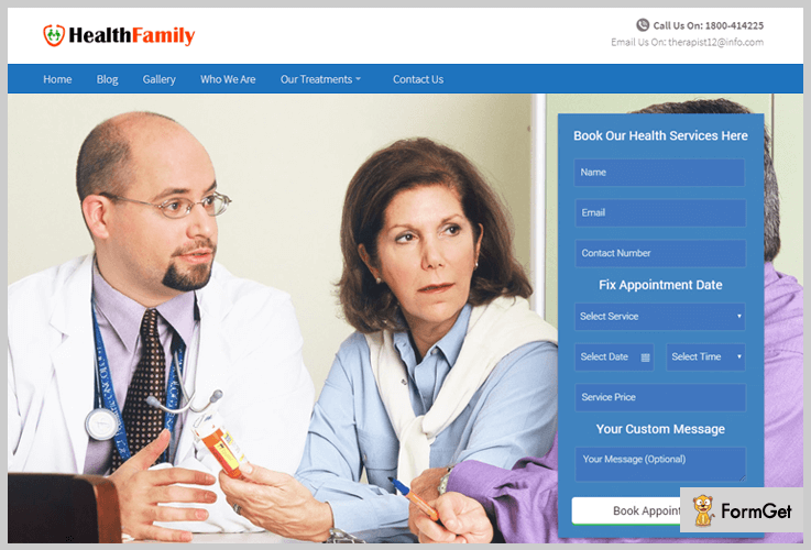Healthy Family Physiotherapy WordPress Theme