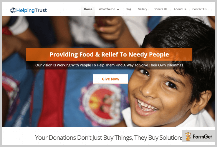 helping trust nonprofit wordpress themes