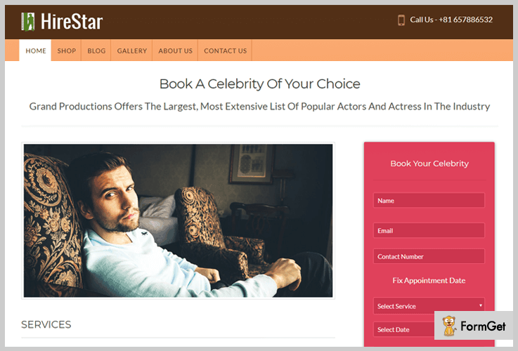hire-star Booking WordPress Theme