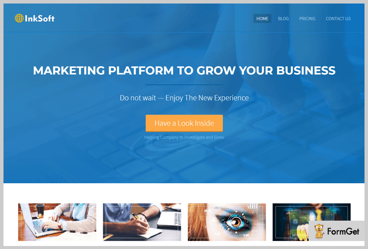 InkSoft IT Company WordPress Themes