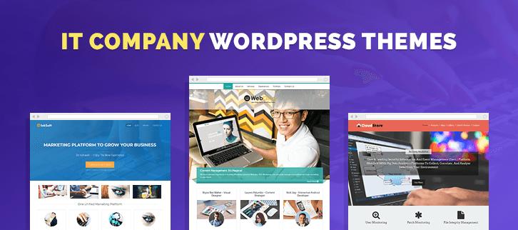 5+ IT Company WordPress Themes 2018 |FormGet