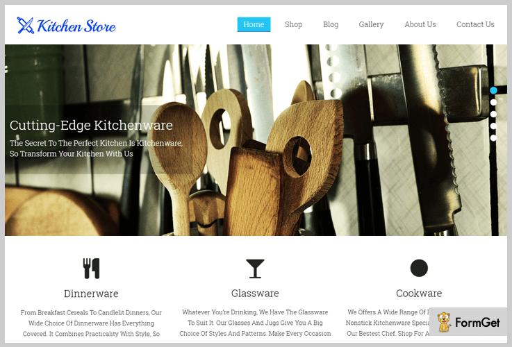 KitchenStore Kitchen WordPress Theme